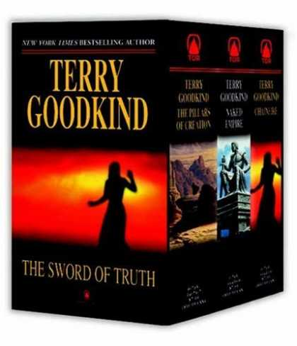 Bestselling Sci-Fi/ Fantasy (2007) - Sword of Truth, Boxed Set III, Books 7-9: The Pillars of Creation, Naked Empire,