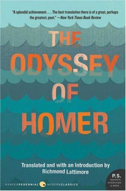 Bestselling Sci-Fi/ Fantasy (2007) - The Odyssey of Homer (P.S.) by Richmond Lattimore