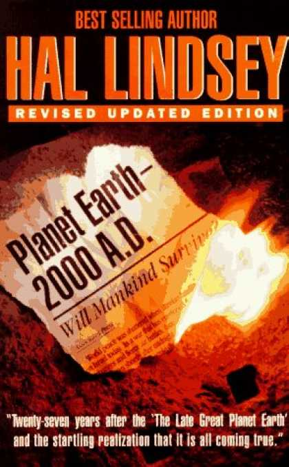 Bestselling Sci-Fi/ Fantasy (2007) - Planet Earth 2000 A.D.: Will Mankind Survive? by Hal Lindsey