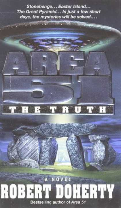 Bestselling Sci-Fi/ Fantasy (2007) - Area 51: The Truth (Area 51) by Robert Doherty