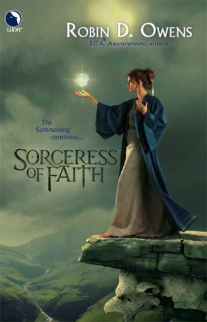 Bestselling Sci-Fi/ Fantasy (2007) - Sorceress Of Faith (The Summoning, Book 2) (Luna Books) by Robin D. Owens