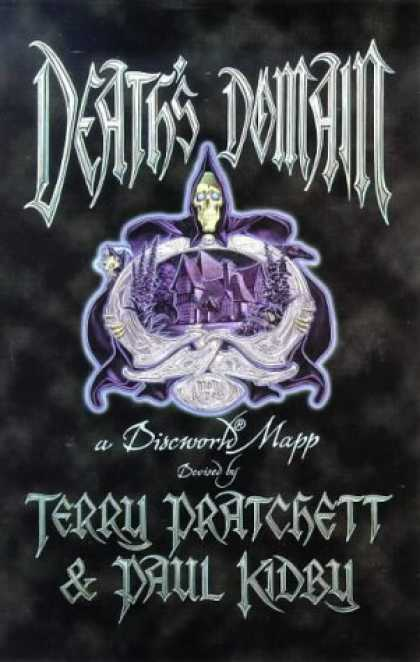 Bestselling Sci-Fi/ Fantasy (2007) - Death's Domain: A Discworld Map (Discworld Series) by Terry Pratchett