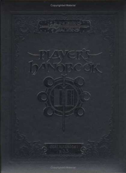 Bestselling Sci-Fi/ Fantasy (2007) - Special Edition Player's Handbook (Core Rulebook I) (Dungeons & Dragons d20 3.5