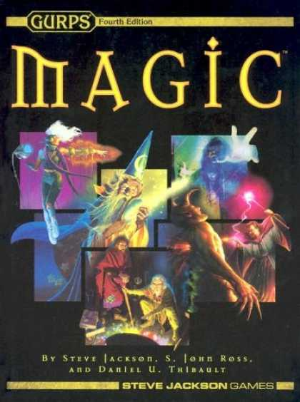 Bestselling Sci-Fi/ Fantasy (2007) - GURPS Magic by Steve Jackson