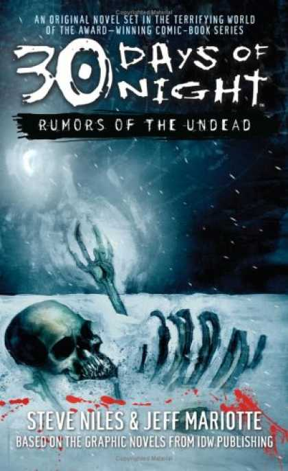 Bestselling Sci-Fi/ Fantasy (2007) - Rumors of the Undead (30 Days of Night) by Steve Niles