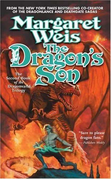 Bestselling Sci-Fi/ Fantasy (2007) - The Dragon's Son (Dragonvarld Trilogy, Book 2) by Margaret Weis