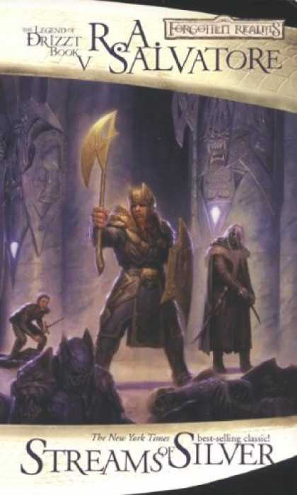 Bestselling Sci-Fi/ Fantasy (2007) - Streams of Silver: The Icewind Dale Trilogy, Part 2 (Forgotten Realms: The Legen