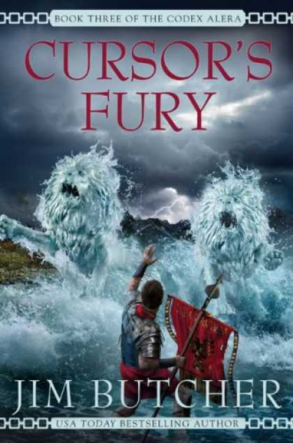 Bestselling Sci-Fi/ Fantasy (2007) - Cursor's Fury (Codex Alera) by Jim Butcher