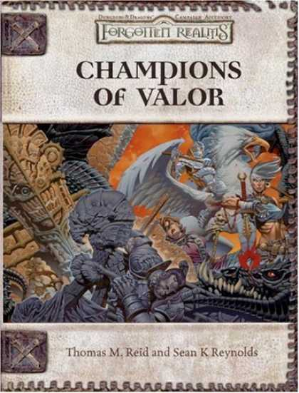 Bestselling Sci-Fi/ Fantasy (2007) - Champions of Valor (Dungeon & Dragons d20 3.5 Fantasy Roleplaying, Forgotten Rea