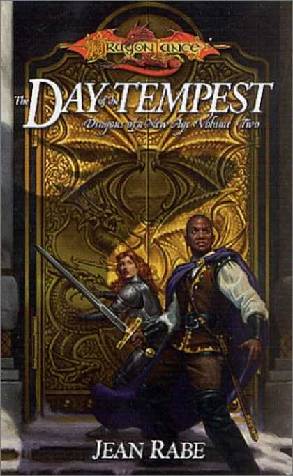 Bestselling Sci-Fi/ Fantasy (2007) - The Day of the Tempest (Dragonlance: Dragons of a New Age, Book 2) by Jean Rabe