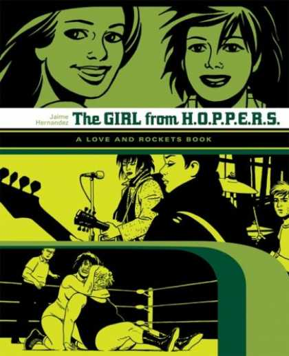"Bestselling Sci-Fi/ Fantasy (2007) - The Girl from HOPPERS: The Second Volume of ""Locas"" Stories from Love & Rockets"