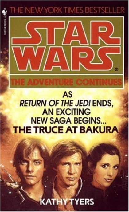 Bestselling Sci-Fi/ Fantasy (2007) - The Truce at Bakura (Star Wars) by Kathy Tyers