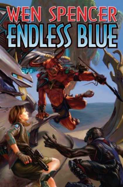 Bestselling Sci-Fi/ Fantasy (2007) - Endless Blue by Wen Spencer
