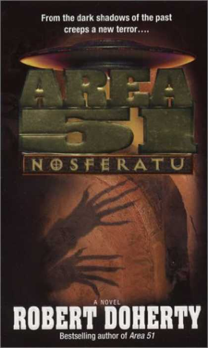 Bestselling Sci-Fi/ Fantasy (2007) - Area 51: Nosferatu by Robert Doherty