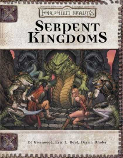 Bestselling Sci-Fi/ Fantasy (2007) - Serpent Kingdoms (Dungeon & Dragons d20 3.5 Fantasy Roleplaying, Forgotten Realm