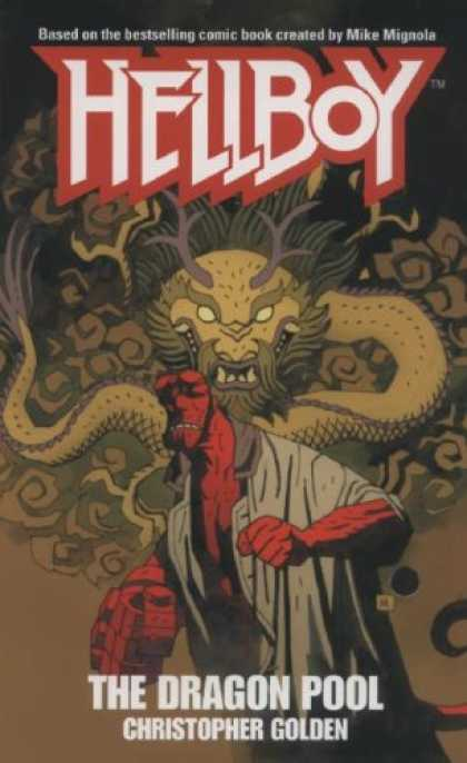 Bestselling Sci-Fi/ Fantasy (2007) - The Dragon Pool (Hellboy) by Christopher Golden