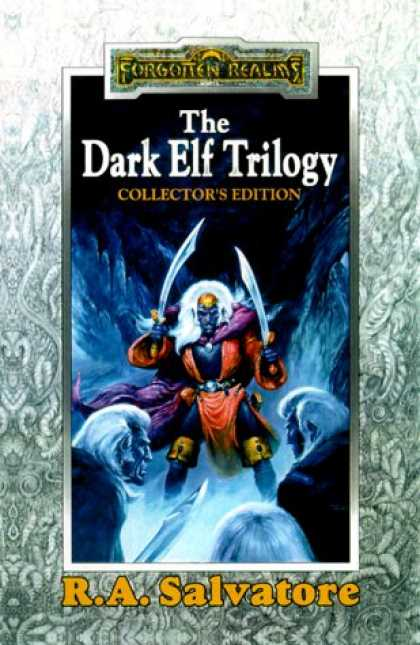 Bestselling Sci-Fi/ Fantasy (2007) - The Dark Elf Trilogy, Collector's Edition (Homeland, Exile, Sojourn) by R. A. Sa