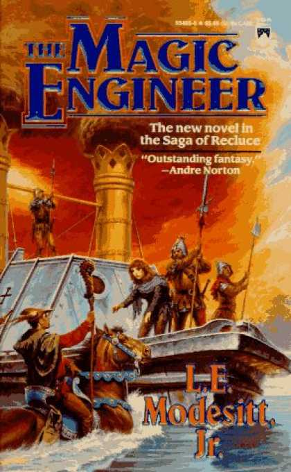Bestselling Sci-Fi/ Fantasy (2007) - The Magic Engineer (Recluce series, Book 3) by L. E. Modesitt Jr.