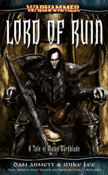 Bestselling Sci-Fi/ Fantasy (2007) - Darkblade: Lord of Ruin (Darkblade) by Dan Abnett