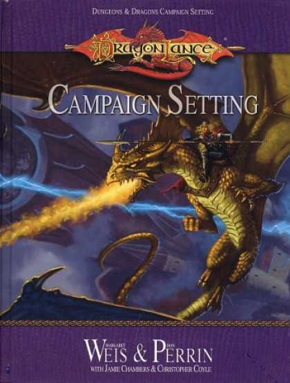 Bestselling Sci-Fi/ Fantasy (2007) - Dragonlance Campaign Setting (Dungeon & Dragons Roleplaying Game: Campaigns) by
