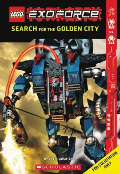 Bestselling Sci-Fi/ Fantasy (2007) - Exo-force: Search For The Golden City (Lego) by Greg Farshtey