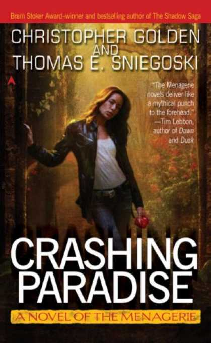 Bestselling Sci-Fi/ Fantasy (2007) - Crashing Paradise: A Novel of the Menagerie by Christopher Golden