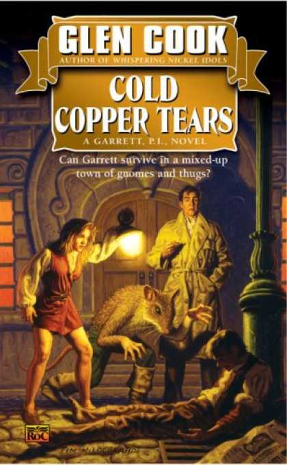 Bestselling Sci-Fi/ Fantasy (2007) - Cold Copper Tears (Garrett Files) by Glen Cook