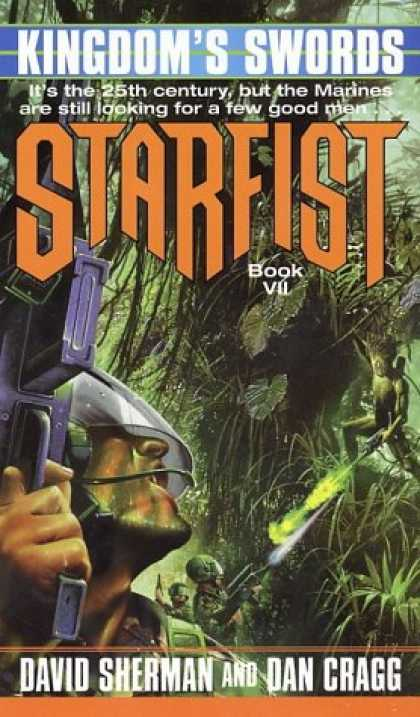 Bestselling Sci-Fi/ Fantasy (2007) - Kingdom's Swords (Starfist, Book 7) by David Sherman