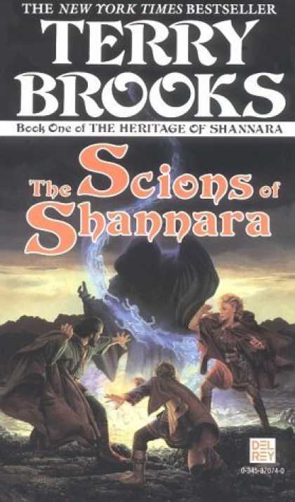 Bestselling Sci-Fi/ Fantasy (2007) - The Scions of Shannara (Heritage of Shannara) by Terry Brooks