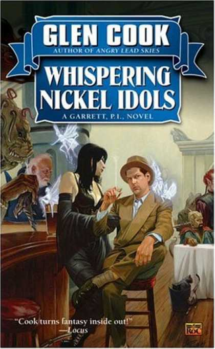 Bestselling Sci-Fi/ Fantasy (2007) - Whispering Nickel Idols: A Garrett, P.I., Novel by Glen Cook