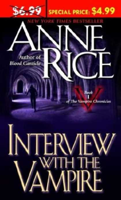 Bestselling Sci-Fi/ Fantasy (2007) - Interview With the Vampire (The Vampire Chronicles) by Anne Rice