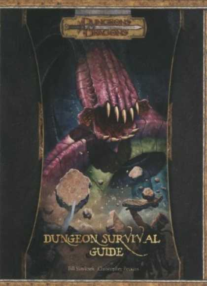 Bestselling Sci-Fi/ Fantasy (2007) - Dungeon Survival Guide (Dungeon & Dragons d20 3.5 Fantasy Roleplaying) by Bill S