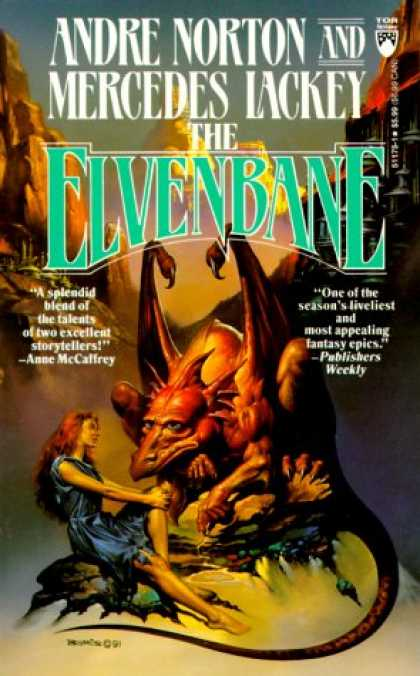 Bestselling Sci-Fi/ Fantasy (2007) - Elvenbane (Halfblood Chronicles) by Andre Norton