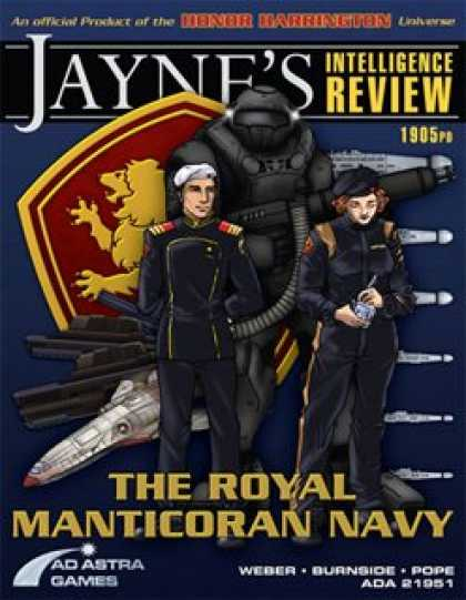 Bestselling Sci-Fi/ Fantasy (2007) - Jayne's Intelligence Review - The Royal Manticoran Navy (Honor Harrington) by Da