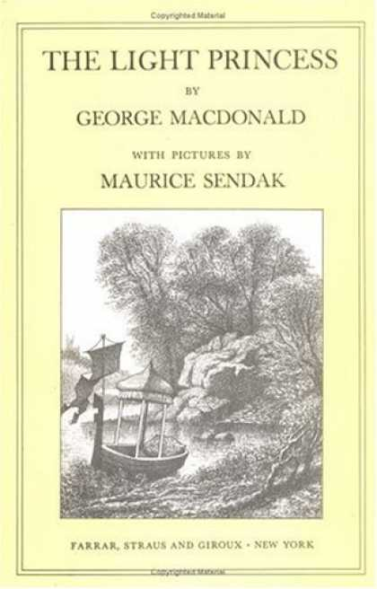 Bestselling Sci-Fi/ Fantasy (2007) - The Light Princess (Sunburst Book) by George MacDonald