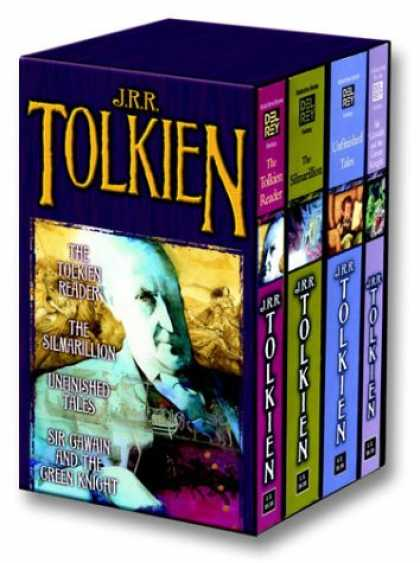 Bestselling Sci-Fi/ Fantasy (2007) - Tolkien Fantasy Tales Box Set (The Tolkien Reader/The Silmarillion/Unfinished Ta