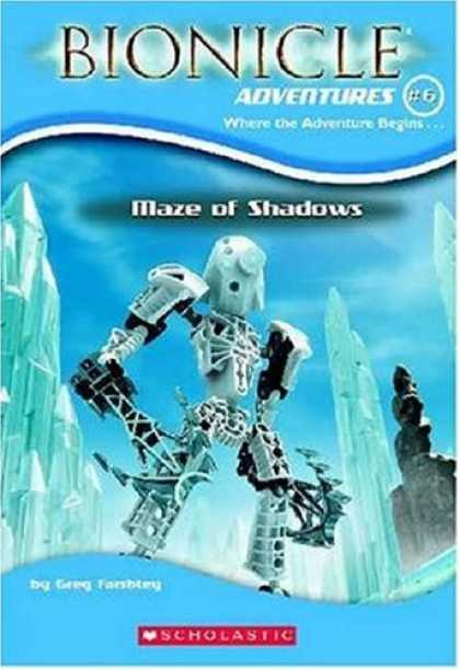 Bestselling Sci-Fi/ Fantasy (2007) - Maze of Shadows (Bionicle Adventures, No. 6) (Bionicle Adventures) by Greg Farsh