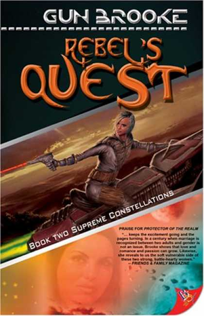 Bestselling Sci-Fi/ Fantasy (2007) - Supreme Constellations (Rebel's Quest) by Gun Brooke