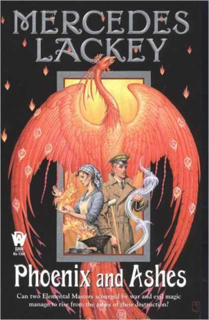 Bestselling Sci-Fi/ Fantasy (2007) - Phoenix and Ashes (Elemental Masters, Book 3) by Mercedes Lackey