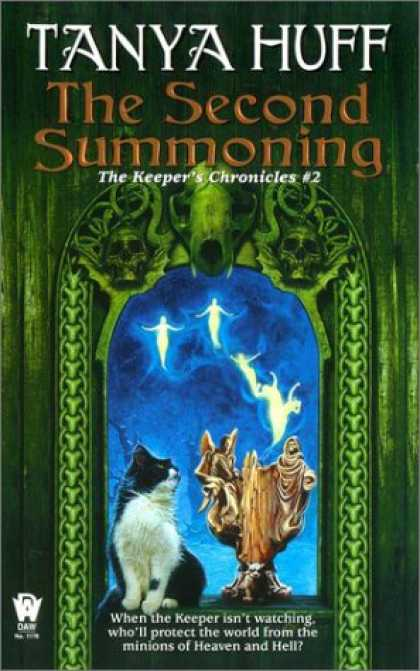 Bestselling Sci-Fi/ Fantasy (2007) - The Second Summoning (The Keeper's Chronicles, No 2) by Tanya Huff