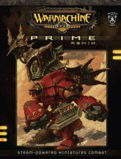 Bestselling Sci-Fi/ Fantasy (2007) - Warmachine: Prime Remix (Warmachine) by Privateer