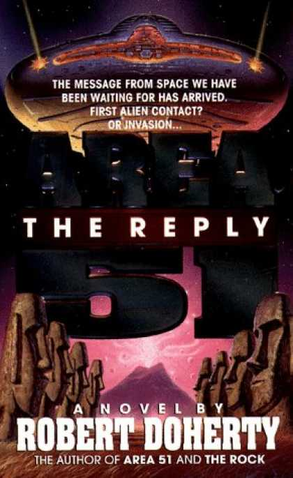 Bestselling Sci-Fi/ Fantasy (2007) - Area 51: The Reply by Robert Doherty