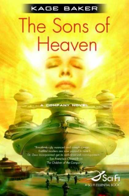 Bestselling Sci-Fi/ Fantasy (2007) - The Sons of Heaven (The Company) by Kage Baker