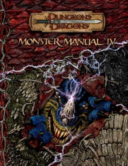 Bestselling Sci-Fi/ Fantasy (2007) - Monster Manual IV (Dungeons & Dragons d20 3.5 Fantasy Roleplaying) by Gwendolyn