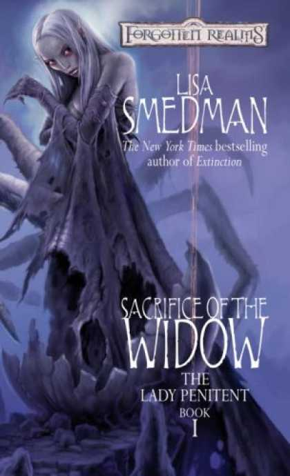 Bestselling Sci-Fi/ Fantasy (2007) - Sacrifice of the Widow (Forgotten Realms: The Lady Penitent, Book 1) by Lisa Sme