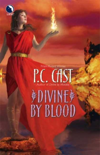 Bestselling Sci-Fi/ Fantasy (2007) - Divine By Blood by P.C. Cast