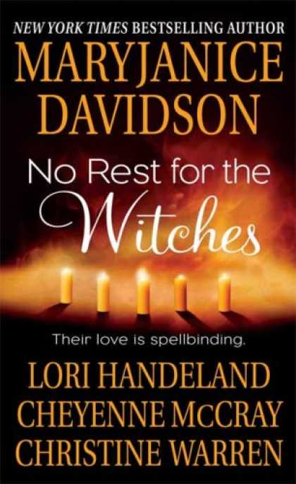 Bestselling Sci-Fi/ Fantasy (2007) - No Rest for the Witches by MaryJanice Davidson