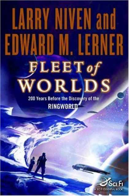 Bestselling Sci-Fi/ Fantasy (2007) - Fleet of Worlds by Larry Niven