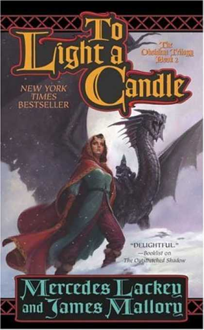 Bestselling Sci-Fi/ Fantasy (2007) - To Light a Candle: The Obsidian Trilogy, Book Two (Obsidian Trilogy) by Mercedes