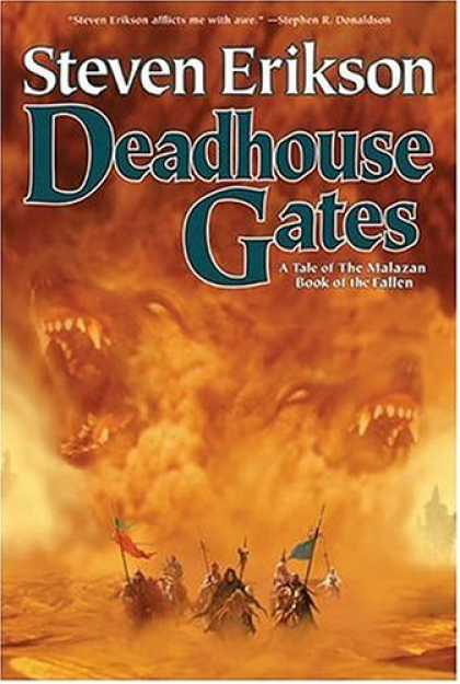 Bestselling Sci-Fi/ Fantasy (2007) - Deadhouse Gates (The Malazan Book of the Fallen, Book 2) by Steven Erikson